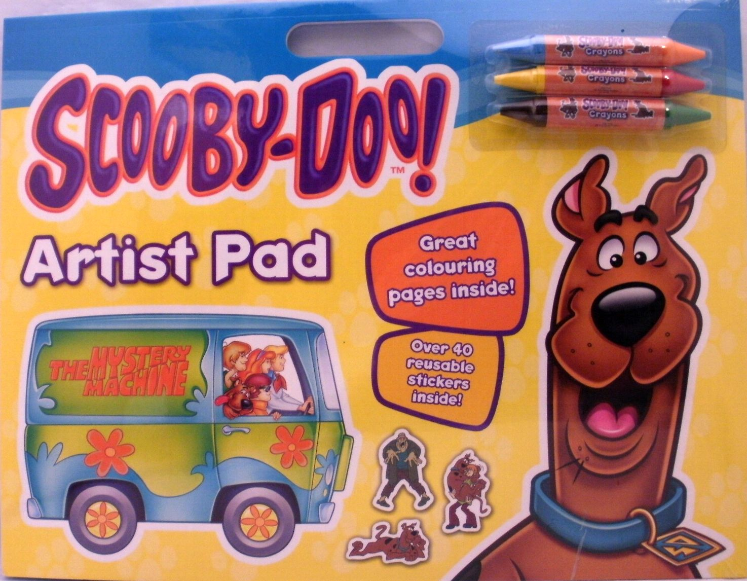Scooby Doo A3 Giant Artist Pad